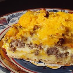 English Muffin Breakfast Strata smartt