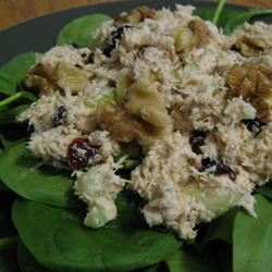 Deb's Cranchick Salad halfnotes