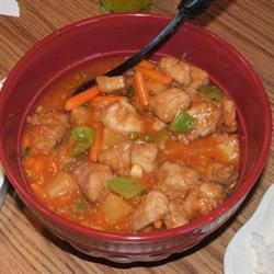 Hong Kong Sweet and Sour Pork
