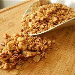 Maple Pecan Granola Holiday Baker