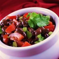 Cold Black Bean Salad