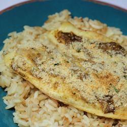 Mustard Crusted Tilapia
