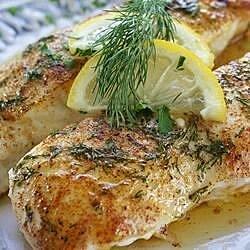 lemony steamed fish recipe