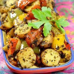 Moroccan Potato Casserole Melissa Goff