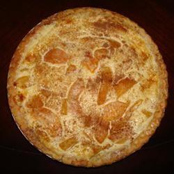 Peach and Cream Cheese Torte Awestphal