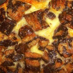 Chocolate Custard Bread Pudding cornelia_sltz