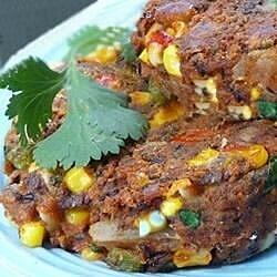 spicy black bean and corn burgers recipe