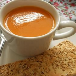 Roasted Red Pepper and Tomato Soup Holiday Baker
