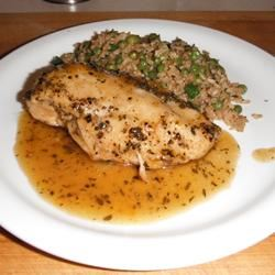 Rosemary Chicken with Orange-Maple Glaze davebuoy