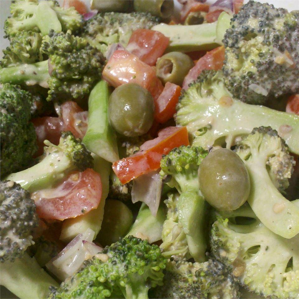 Mardi's Broccoli Salad Mardi Brown