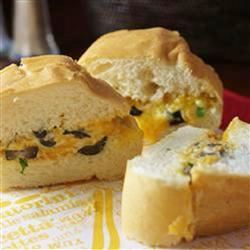 Hot Cheddar-Olive Bread naples34102