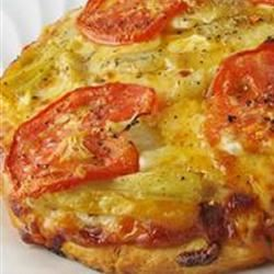 Garlic and Artichoke Pizza naples34102