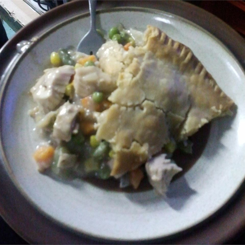 Leftover Pot Pie