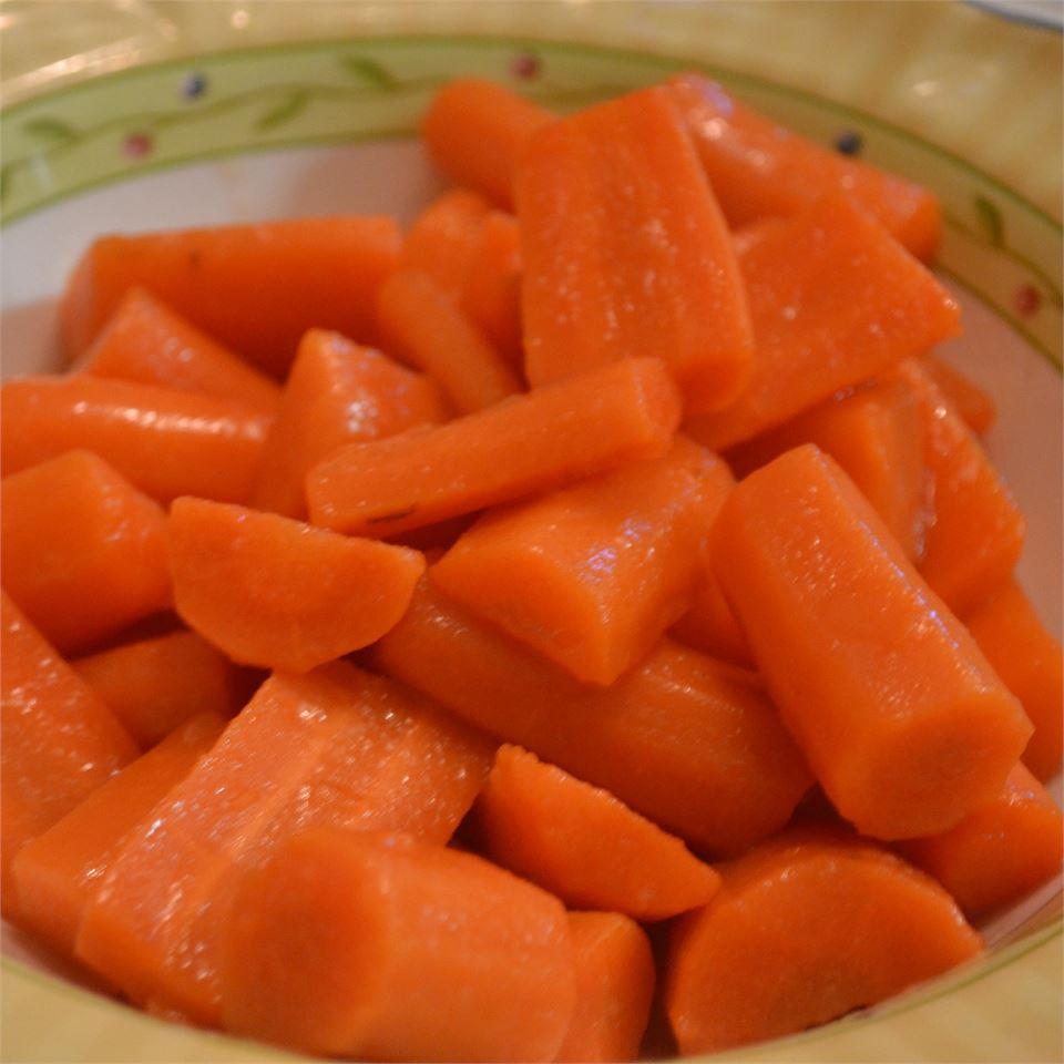 Honey Glazed Pea Pods and Carrots Rebekah Rose Hills