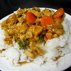 Mama's Asian Chicken and Rice Molly