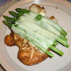 Chicken Teriyaki with Asparagus Molly