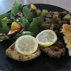 Marinated Rosemary Lemon Chicken