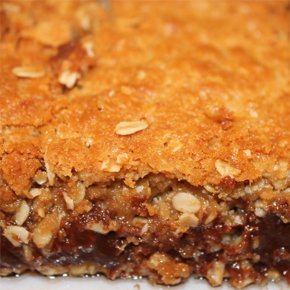 Chocolate Oatmeal Bars Heidi