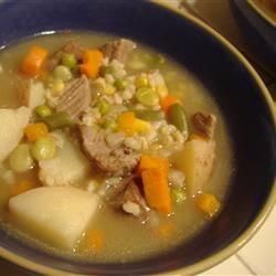 Melanie's Beef Barley Soup sixkyej