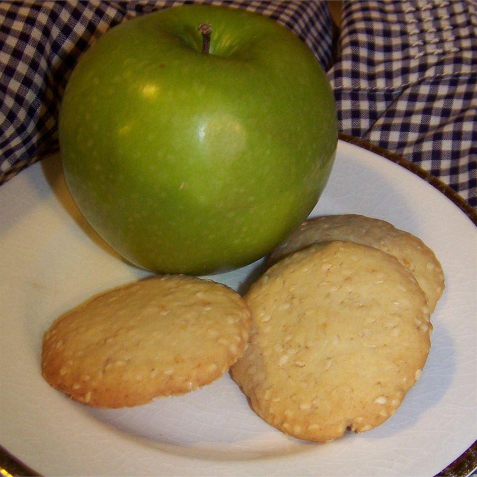 Golden Sesame Cookies Lois