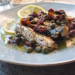 """""""No cooking involved. This recipe is for busy people looking for an easy recipe; great for fish lovers, even those a bit skeptical of sardines,"""" says iloveoliveoil. """"The ingredients really balance out the fishy flavor, and turn a can of sardines into a tasty, gourmet meal on-the-go."""""""