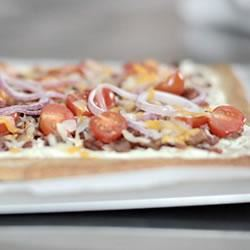 Spicy Jalapeno and Bacon Flatbread Trusted Brands