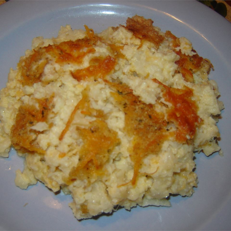 Puffed Cauliflower Cheese LINDA MCLEAN