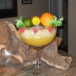 Margaritas on the Rocks Tiger Cakes