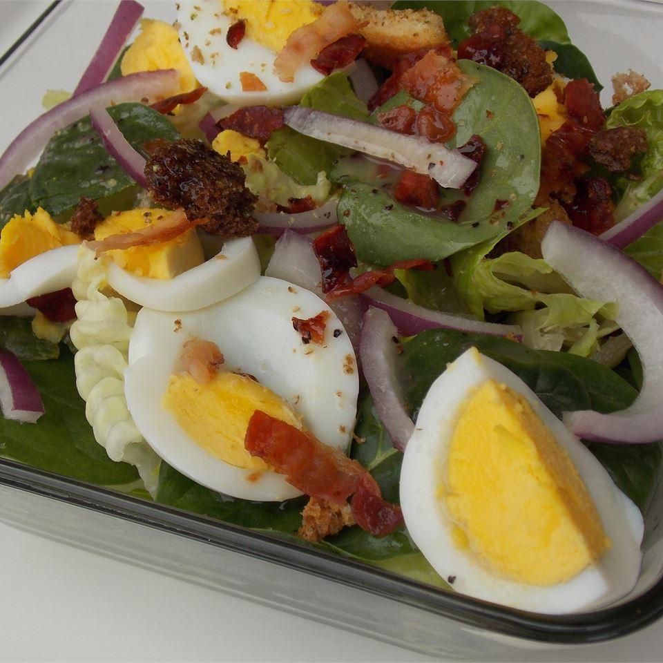 Spinach Salad I Baking Nana