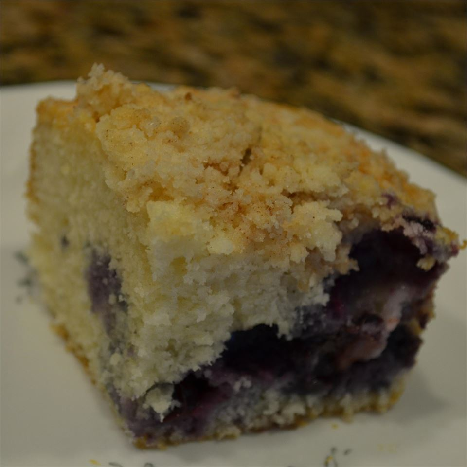Blueberry Buttermilk Coffeecake Kim's Cooking Now