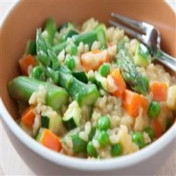 Brown Rice and Vegetable Risotto Carla