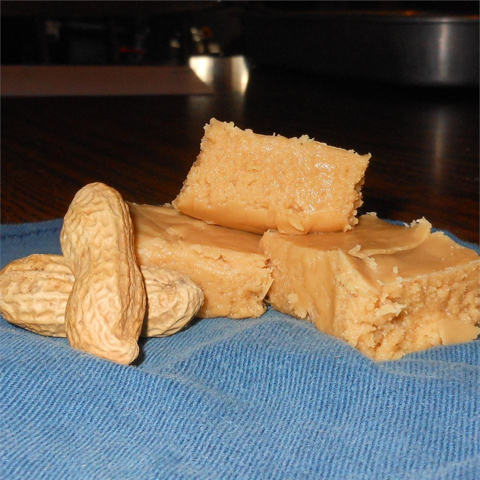 Peanut Butter Fudge with Evaporated Milk