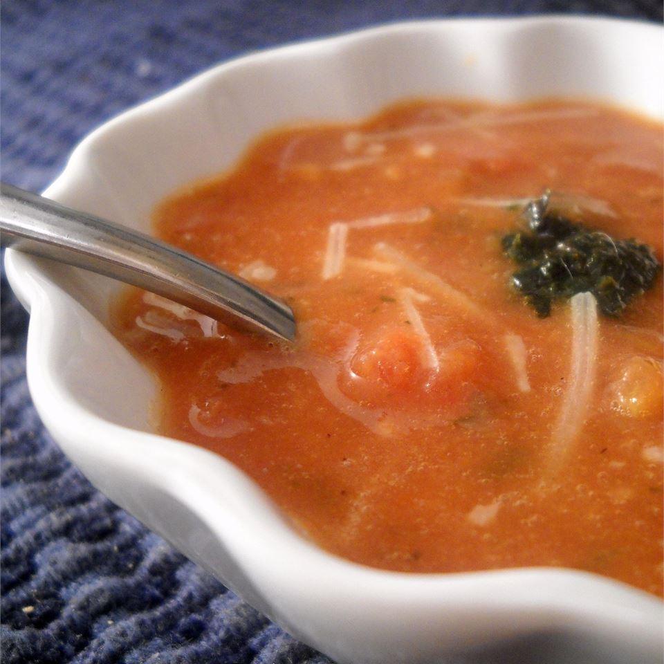 Smoked Chipotle Tomato Basil Soup Linda T