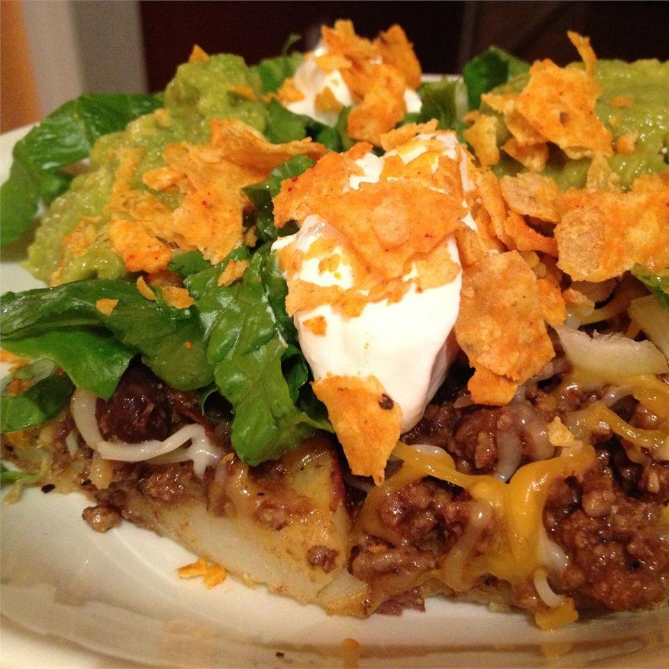 Mexican Potato Nachos iraldy