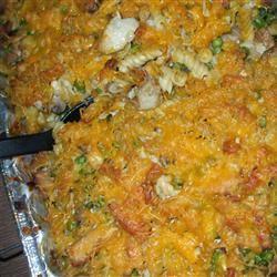 Rotini and Chicken Casserole