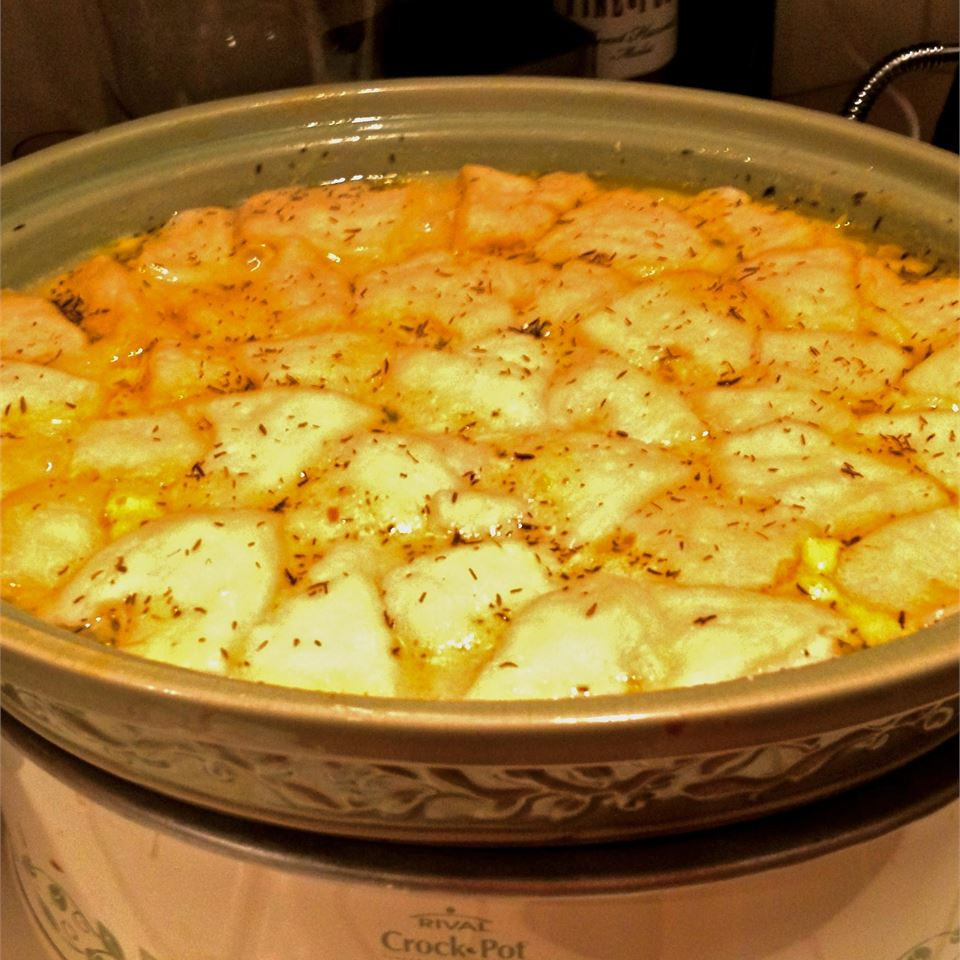Campbell's® Slow-Cooker Chicken and Dumplings Muttidrei