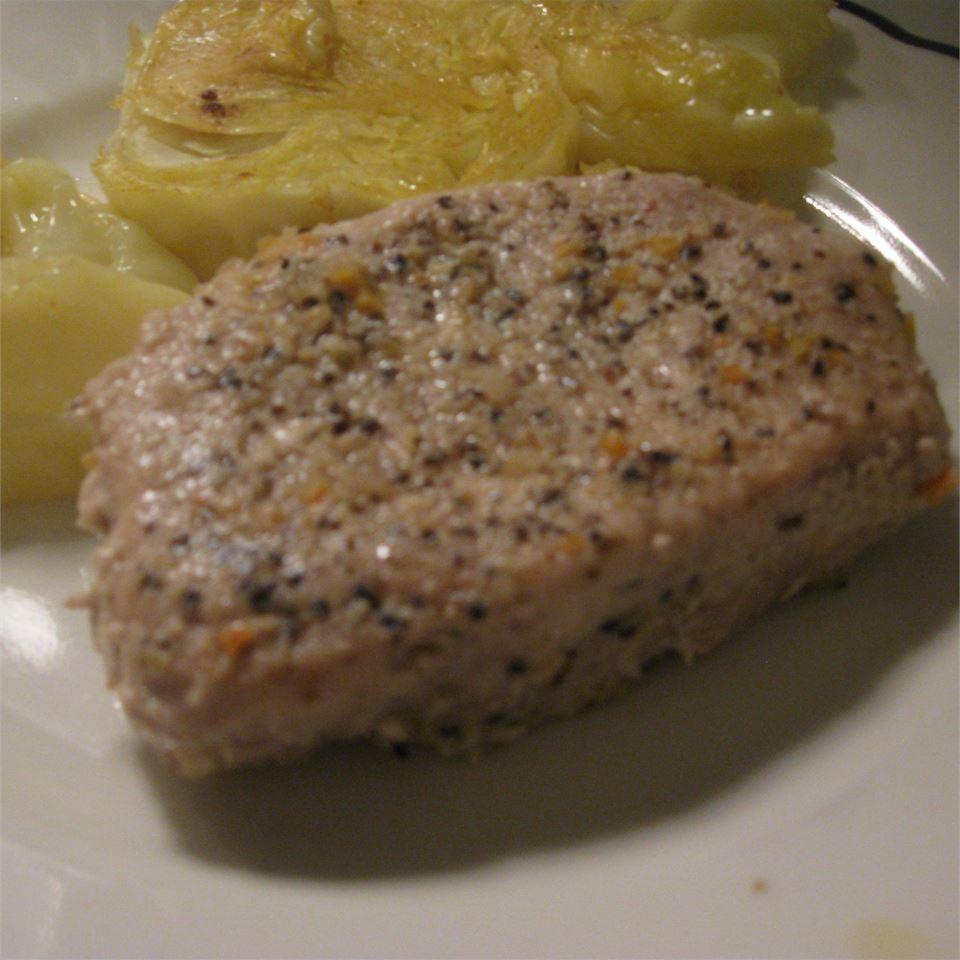 Simple but Awesome Lemon Pepper Pork Chops McBacon