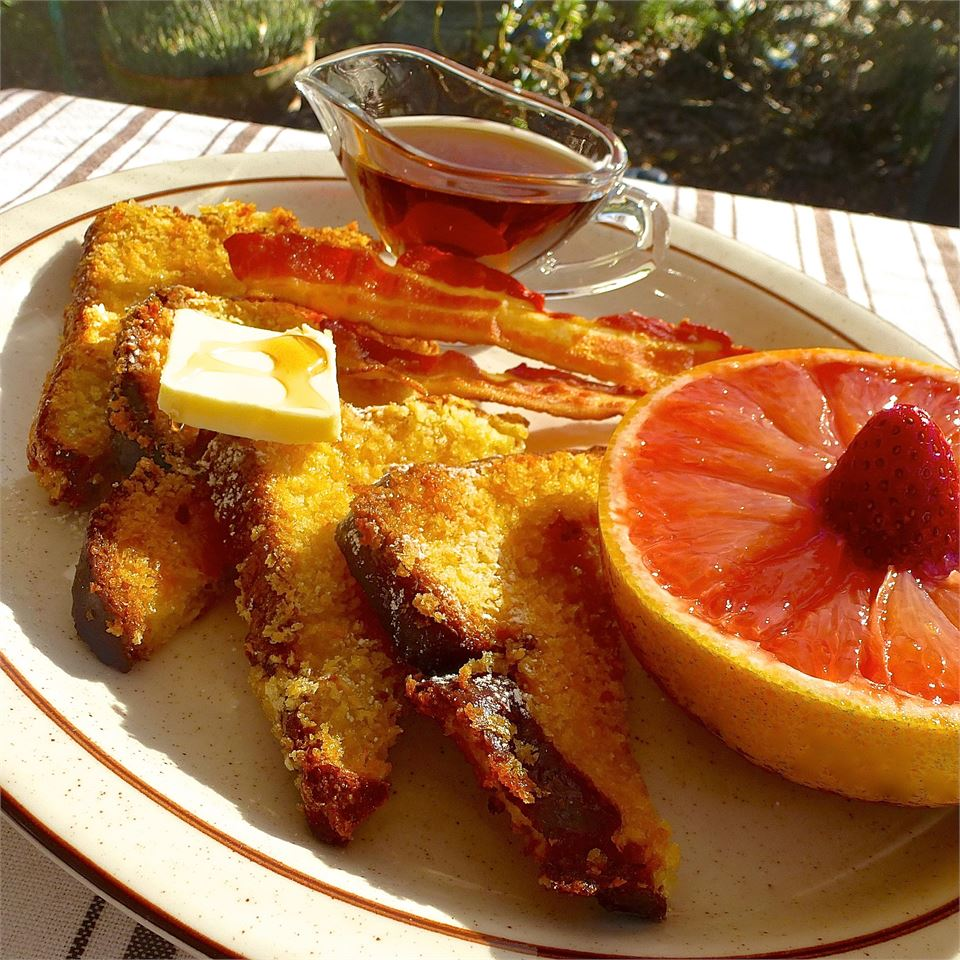 Crispy Baked French Toast lutzflcat