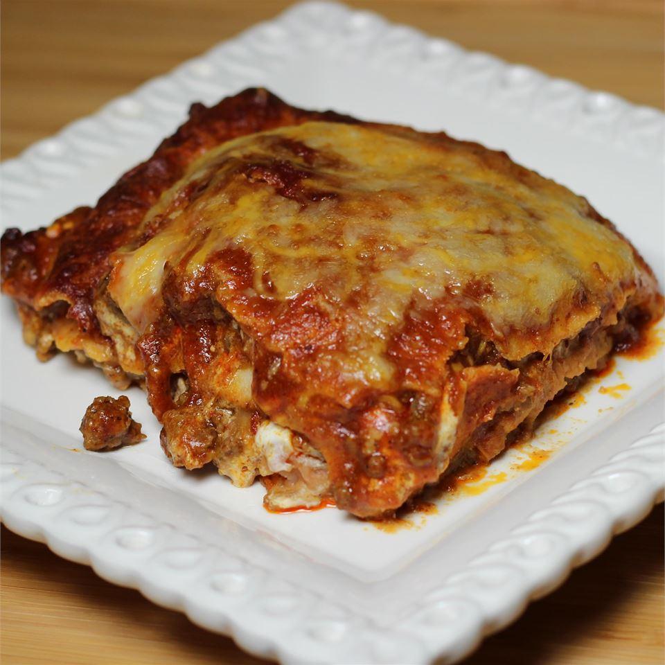 Mexican Lasagna Lite Paula