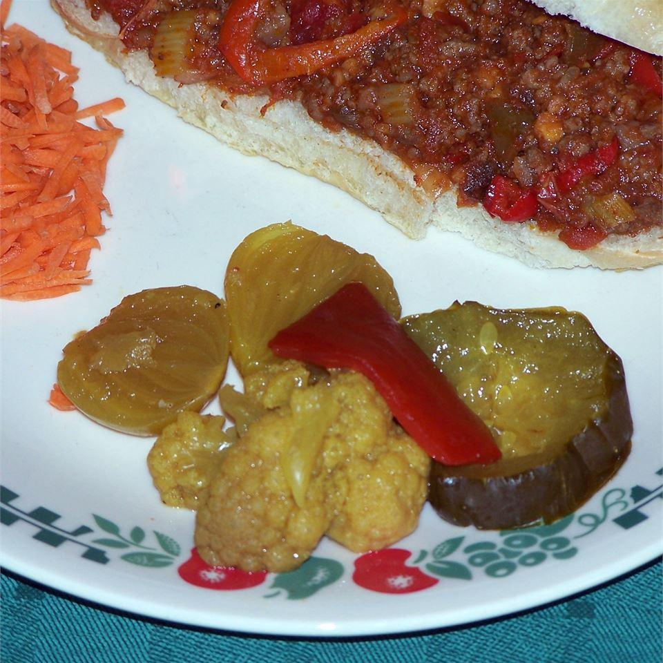 Grandmother's Mustard Pickles