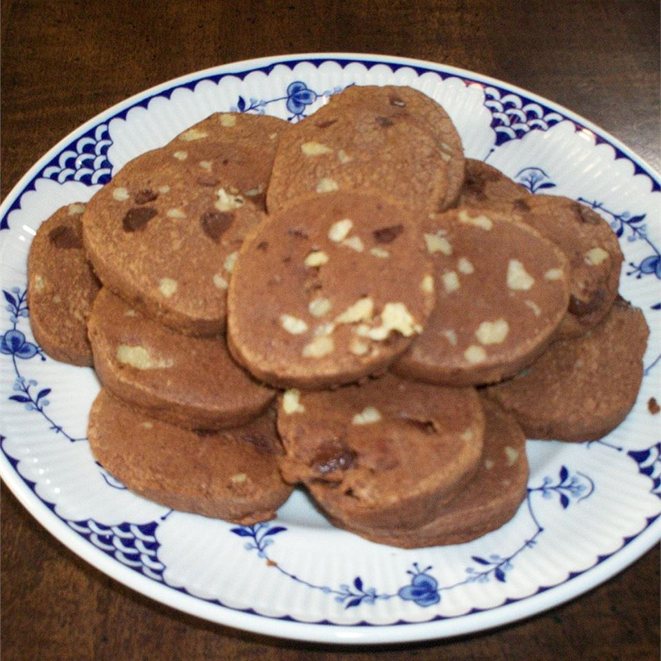 Chocolate Refrigerator Cookies Leigh Anne