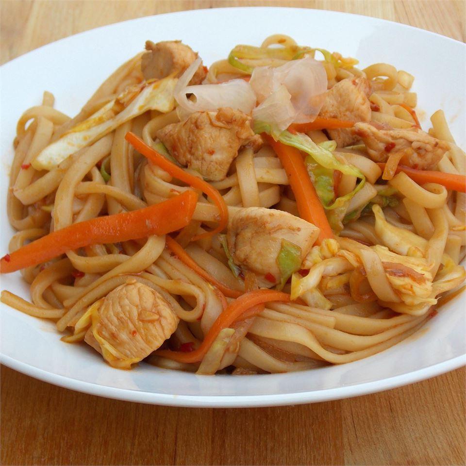 Chicken Yakisoba Allrecipes