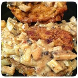 Country Fried Onion and Mushroom Steak