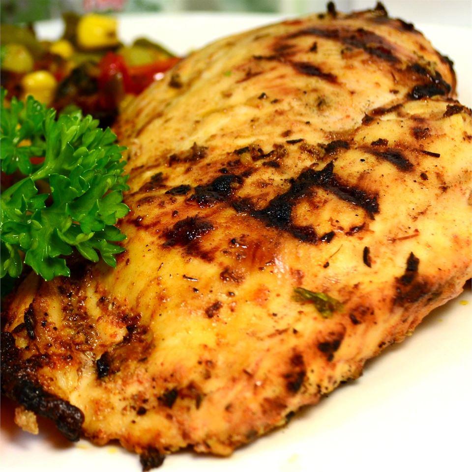 Cajun Chicken Wood Halsey