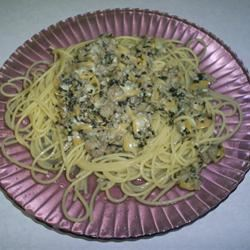 Linguine with White Clam Sauce II JStoddard