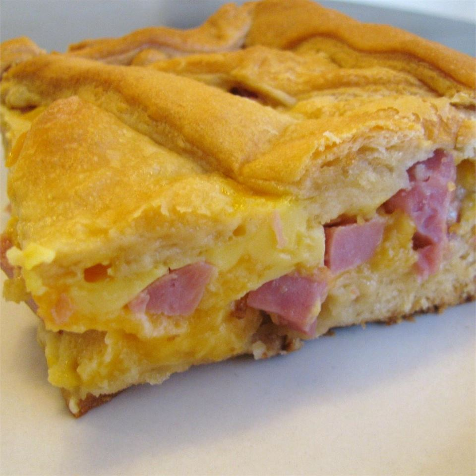 Ham and Cheese Pie Sugarplum
