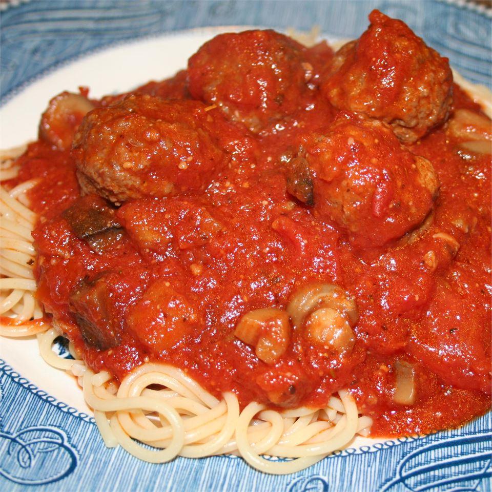Restaurant Style Spaghetti Sauce