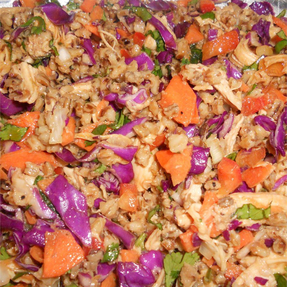 Spicy Chicken and Spelt Salad OdaMae