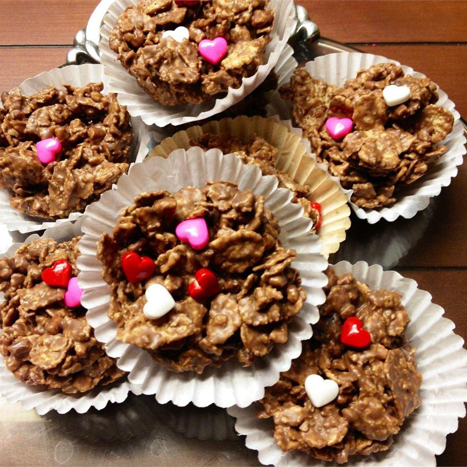 Peanut Clusters Chocolate Cookie Tina Verhagen