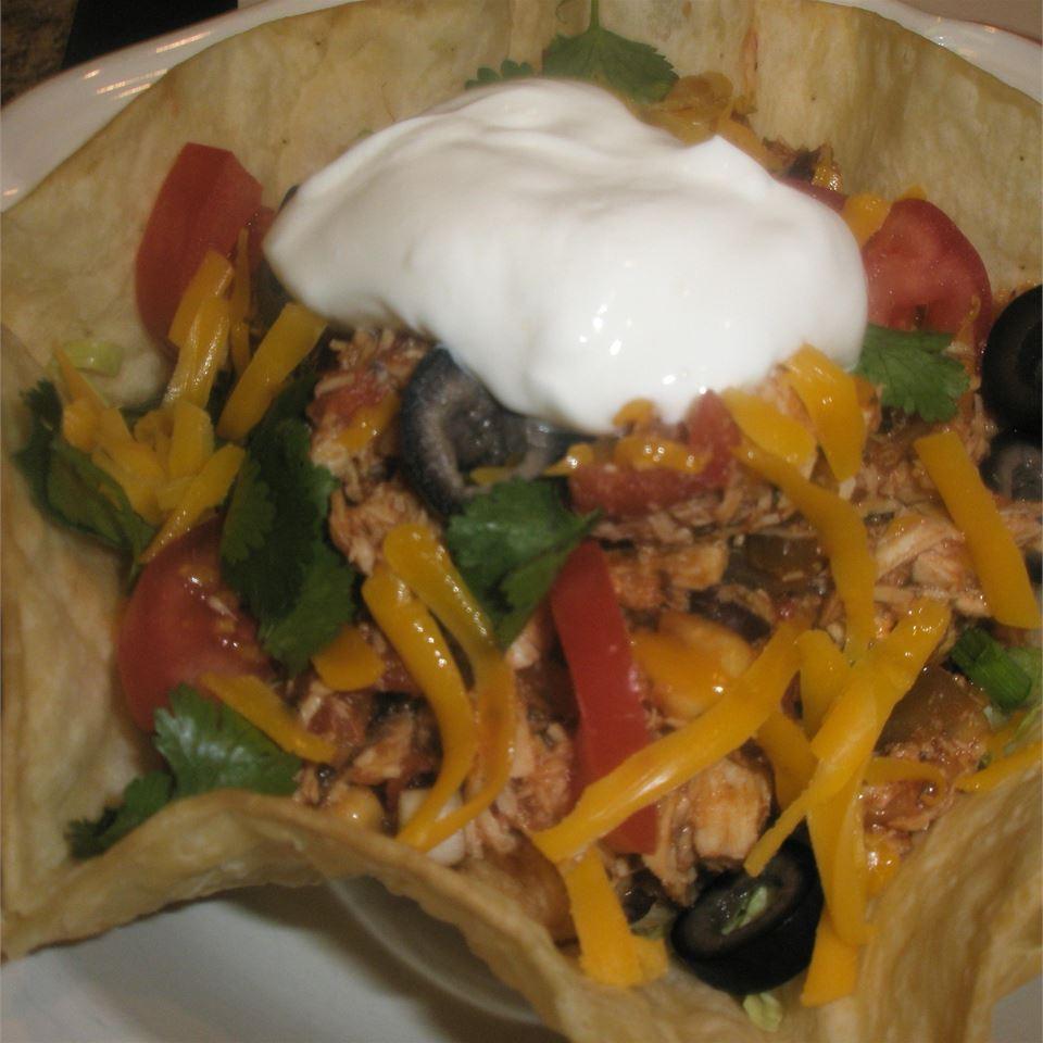 Turkey Taco Salad Sheryl Barney